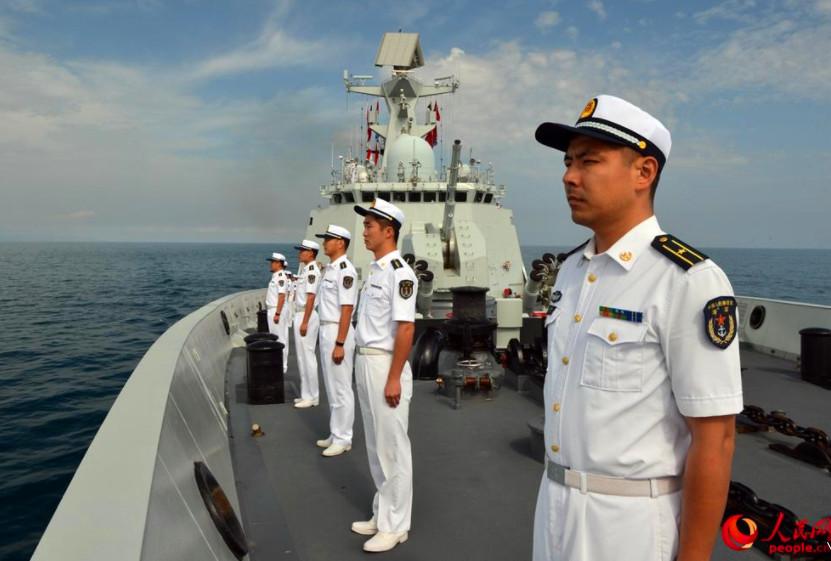 <strong>海军芜湖舰参加突尼斯海军成立60周年国际舰队检阅活动</strong>
