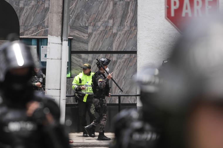 哥伦比亚首都波哥大一座监狱发生暴动致23死90伤