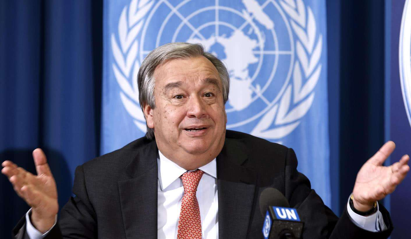 <strong>联合国秘书长呼吁全人类团结一心共同战胜新冠病毒</strong>