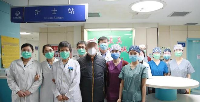 抗击疫情:周老爷子在地坛医院ICU的日子里