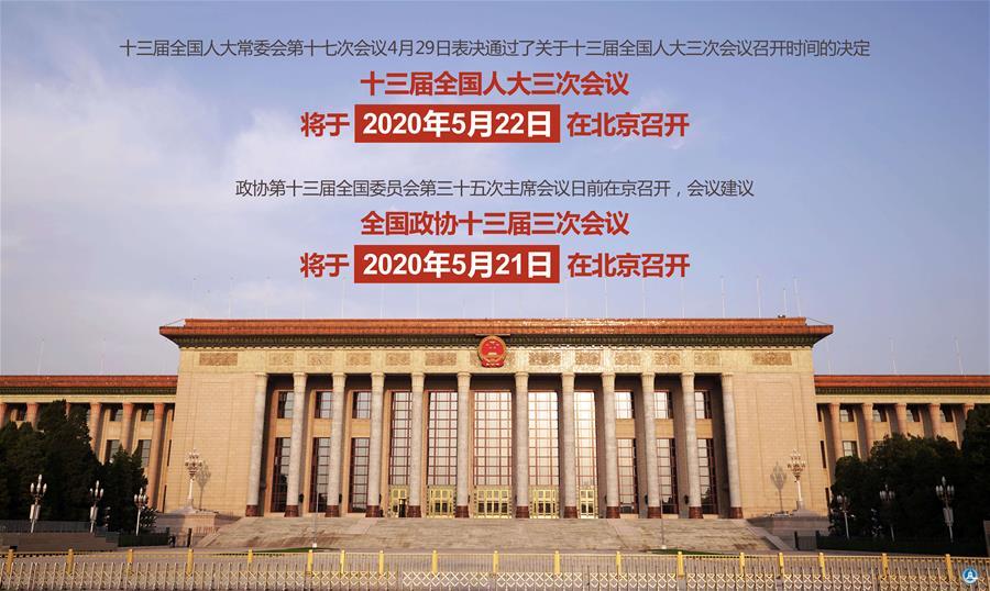 全国人大、政协十三届三次会议开幕会在北京举行