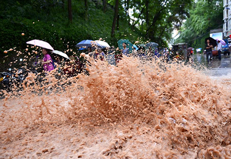 长江中下游将迎来较强降雨