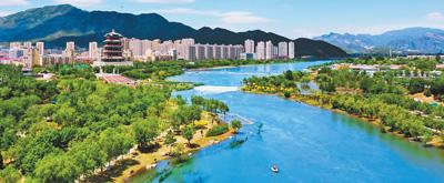 25年来永定河北京段首次全线通水