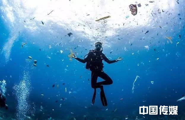 """全球每年有800多万吨塑料垃圾进入海洋 应对""""白色污染"""" 中国发力""""限塑"""""""