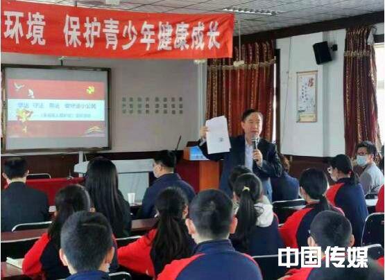 奎文区民政局关爱外来务工人员未成年子女,为企业发展保驾护航