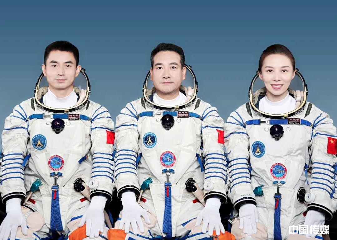 中国女航天员亮相!将执行神舟十三号载人飞行任务