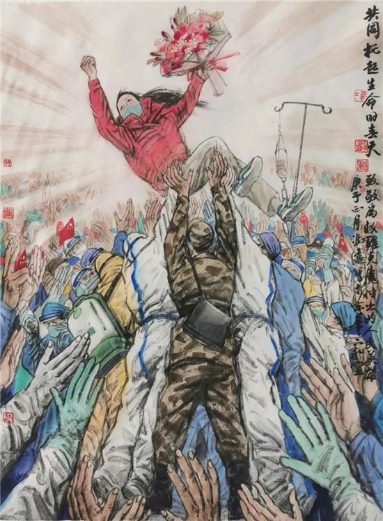 <strong>拿起画笔、共克时艰——上海美术家在行动(二十四)</strong>