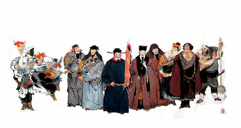 英 雄 史 诗 《水浒传》与潍坊 一部史诗仔细读   潍坊大地豪杰多(第一部分)